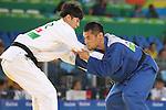 Satoshi Fujimoto (JPN),<br /> SEPTEMBER 8, 2016 - Judo : <br /> Men's -66kg Quater-Final<br /> at Carioca Arena 3 during the Rio 2016 Paralympic Games in Rio de Janeiro, Brazil. (Photo by Shingo Ito/AFLO)