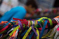 APARECIDA,SP, 12.10.2018 -APARECIDA-SP - Milhares de fiéis acompanham as celebrações do Dia da Padroeira do Brasil no Santuário de Nossa Senhora Aparecida na manhã desta sexta-feira, 12, na cidade de Aparecida, interior de São Paulo. (Foto: Levi Bianco/Brazil Photo Press)