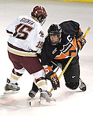 Stephen Gionta, Patrick Neundorfer - Boston College defeated Princeton University 5-1 on Saturday, December 31, 2005 at Magness Arena in Denver, Colorado to win the Denver Cup.  It was the first meeting between the two teams since the Hockey East conference began play.