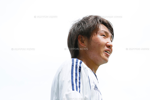 Daisuke Sakai (JPN), <br /> APRIL 18, 2017 - Football / Soccer : <br /> U-20 Japan National team training match <br /> between U-20 - JEF United Chiba <br /> in Chiba, Japan. <br /> (Photo by Yohei Osada/AFLO SPORT)