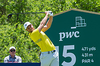 Lucas Bjerregaard (DEN) during the 3rd round at the Nedbank Golf Challenge hosted by Gary Player,  Gary Player country Club, Sun City, Rustenburg, South Africa. 16/11/2019 <br /> Picture: Golffile | Tyrone Winfield<br /> <br /> <br /> All photo usage must carry mandatory copyright credit (© Golffile | Tyrone Winfield)