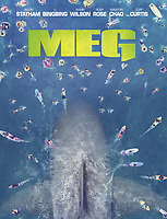 The Meg (2018)<br /> POSTER ART<br /> *Filmstill - Editorial Use Only*<br /> CAP/FB<br /> Image supplied by Capital Pictures