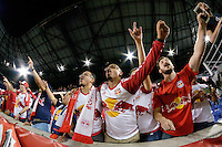 Harrison, NJ - Thursday Sept. 15, 2016: New York Red Bulls fans after a CONCACAF Champions League match between the New York Red Bulls and Alianza FC at Red Bull Arena.
