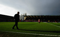 Mansfield Town manager David Flitcroft prior to the game<br /> <br /> Photographer Chris Vaughan/CameraSport<br /> <br /> The EFL Sky Bet League Two - Lincoln City v Mansfield Town - Saturday 24th November 2018 - Sincil Bank - Lincoln<br /> <br /> World Copyright &copy; 2018 CameraSport. All rights reserved. 43 Linden Ave. Countesthorpe. Leicester. England. LE8 5PG - Tel: +44 (0) 116 277 4147 - admin@camerasport.com - www.camerasport.com