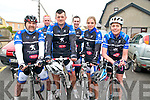 Nortk Kerry Spring Cycling Classic: Taking part in the North Kerry Spring  Cycling Classic organised by the Finuge Freewheelers Cycling club & Ballybunion Sea & Cliff Resue held in Ballybunion on Sunday last were members of the Slaibh Luachra Cycling club. L-R: William Sheehan, Fred McGillacuddy, Richard Cleverly, Finbar Corcoran, Elaine Collins & Hannah O'Connor.