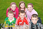 COMMUNITY FUN: Enjoying the fun at the Rock Street/Caherslee community games at Mercy Mounthawk School on Friday front l-r: Cian Liston, Micheal O'Donnell and Oisin Fitzgearld all from Mounthawk. Back l-r: Katie Liston, Megan O'Donnell and Louise O'Connor.   Copyright Kerry's Eye 2008