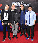 Far East Movement at The Universal Pictures American Premiere of Fast & Furious 6 held at Universal CityWalk in Universal City, California on May 21,2013                                                                   Copyright 2013 Hollywood Press Agency
