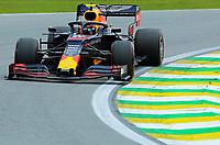 16th November 2019; Autodromo Jose Carlos Pace, Sao Paulo, Brazil; Formula One Brazil Grand Prix, Qualifying Day; Alexander Albon (THA) Scuderia Toro Rosso STR14 - Editorial Use
