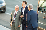 The president of Ciudadanos, Albert Rivera attends to the debate between the 4 principals candidates at Palacio de Congresos in Madrid. June 13, 2016. (ALTERPHOTOS/BorjaB.Hojas)