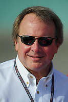 Nov. 20, 2009; Homestead, FL, USA; Edsel Ford II during qualifying for the Ford 400 at Homestead Miami Speedway. Mandatory Credit: Mark J. Rebilas-