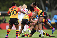 Charlotte Booth, England v Papua New Guinea - Women's Rugby League World Cup match at Southern Cross Group Stadium, Sydney, Australia on 16 November 2017.<br /> Copyright photo: Delly Carr / www.photosport.nz MANDATORY CREDIT/BYLINE : Delly Carr/SWpix.com/PhotosportNZ
