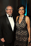 """Shushana and Jack Castle at the Houston Museum of Natural Science's """"Slither to the Sound: A Prehistoric Party"""" Saturday March 02, 2013.(Dave Rossman/ For the Chronicle)"""