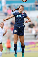Cary, North Carolina  - Saturday July 01, 2017: Ashley Hatch during a regular season National Women's Soccer League (NWSL) match between the North Carolina Courage and the Sky Blue FC at Sahlen's Stadium at WakeMed Soccer Park. Sky Blue FC won the game 1-0.