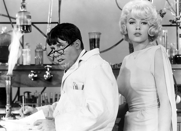 Jerry Lewis &amp; Stella Stevens<br /> in The Nutty Professor<br /> *Filmstill - Editorial Use Only*<br /> CAP/PLF<br /> Supplied by Capital Pictures /MediaPunch ***NORTH AND SOUTH AMERICAS ONLY***