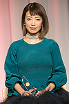 Japan's Best Dresser Awards winner Kaori Muraji attends the 46th Awards ceremony on November 29, 2017, Tokyo, Japan. This year five people received the award for being fashion and lifestyle leaders in their fields. (Photo by Rodrigo Reyes Marin/AFLO)