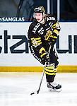Stockholm 2014-01-18 Ishockey SHL AIK - F&auml;rjestads BK :  <br /> AIK:s Christopher Aspeqvist <br /> (Foto: Kenta J&ouml;nsson) Nyckelord:  portr&auml;tt portrait