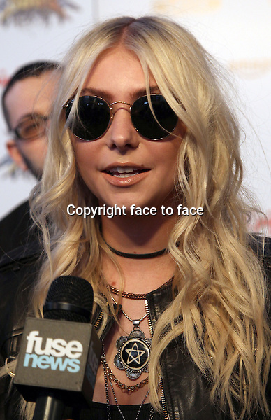 Los Angeles, CA - April 23: Taylor Momsen Attending 2014 Revolver Golden Gods Awards At Club Nokia California on April 23, 2014.<br /> Credit: RTNUPA/MediaPunch<br />