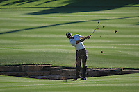 Charl Schwartzel (RSA) on the third day of the DUBAI WORLD CHAMPIONSHIP presented by DP World, Jumeirah Golf Estates, Dubai, United Arab Emirates.Picture Denise Cleary www.golffile.ie