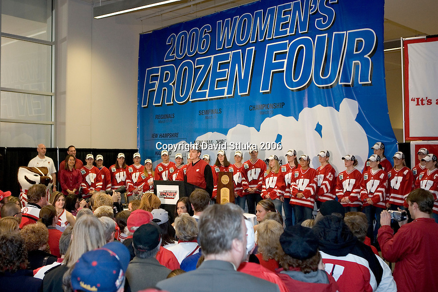 National Champion Wisconsin Badgers
