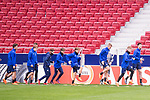 FC Copenhague training session day before Europa League match between Atletico de Madrid and FC Copenhague at Wanda Metropolitano in Madrid , Spain. February 21, 2018. (ALTERPHOTOS/Borja B.Hojas)