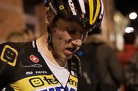 Corné van Kessel (NLD/Telenet-Fidea) post-race<br /> <br /> Superprestige Diegem 2015