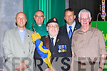 Rev Laurence Graham Killarney Methodist Church, Simon Lumby Rector of Killarney Church of Ireland,  Denis Carroll Chairman Royal British legion Limerick, Tom and Joe Martin Castleisland at the Killarney WW1 remembrance ceremony in St Mary's cathedral on Sunday