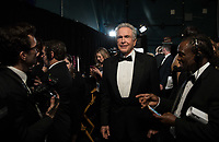 Warren Beatty backstage during the live ABC Telecast of The 90th Oscars&reg; at the Dolby&reg; Theatre in Hollywood, CA on Sunday, March 4, 2018.<br /> *Editorial Use Only*<br /> CAP/PLF/AMPAS<br /> Supplied by Capital Pictures