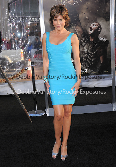 Lisa Rinna at The Warner Bros. Pictures L.A. Premiere of Clash of The Titans held at The Grauman's Chinese Theatre in Hollywood, California on March 31,2010                                                                   Copyright 2010  DVS / RockinExposures
