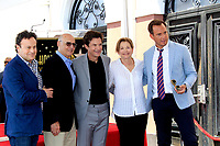 LOS ANGELES - July 26:  Mitchell Hurwitz, Jeffrey Tambor, Jason Bateman, Jessica Walter, Will Arnett at the Jason Bateman Hollywood Walk of Fame Star Ceremony at the Walk of Fame on July 26, 2017 in Hollywood, CA