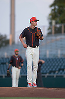 AZL Giants Black starting pitcher Conner Nurse (31) during an Arizona League game against the AZL Royals at Scottsdale Stadium on August 7, 2018 in Scottsdale, Arizona. The AZL Giants Black defeated the AZL Royals by a score of 2-1. (Zachary Lucy/Four Seam Images)