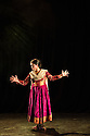 Sonia Sabri Company present KAAVISH in the Purcell Room, Southbank Centre. Picture shows: Sonia Sabri in BAJE.