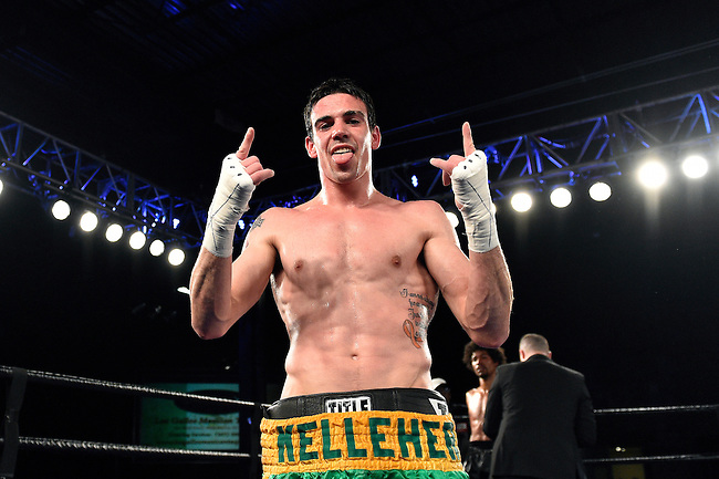 Scott Kelleher advances to 5-0, Friday, May 6, 2016, in Philadelphia. (Photo-Derik Hamilton Images)