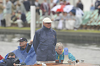 Henley, GREAT BRITAIN, HRR Umpire, John FRIEND. 2008 Henley Royal Regatta, on  Sunday, 06/07/2008,  Henley on Thames. ENGLAND. [Mandatory Credit:  Peter SPURRIER / Intersport Images] Rowing Courses, Henley Reach, Henley, ENGLAND . HRR