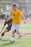 Torrance, CA 02/23/11 - Greg Day  (West #17) in action during the second round CIF playoffs between Tesoro and West.
