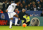 Jose Mourinho manager of Chelsea urges his players forward - English Premier League - Leicester City vs Chelsea - King Power Stadium - Leicester - England - 14th December 2015 - Picture Simon Bellis/Sportimage
