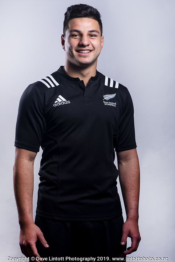 Matt Dobbyn (Hamilton BHS). 2019 New Zealand Schools rugby union headshots at the Sport & Rugby Institute in Palmerston North, New Zealand on Wednesday, 25 September 2019. Photo: Dave Lintott / lintottphoto.co.nz