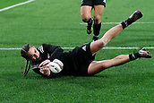 9th June 2017, Westpac Stadium, Wellington, New Zealand; International Womens Rugby; New Zealand versus Canada;  New Zealands Selica Winiata scores a try