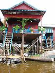Kampong Phluk - Floating Village on Lake Tonle Sap, Cambodia