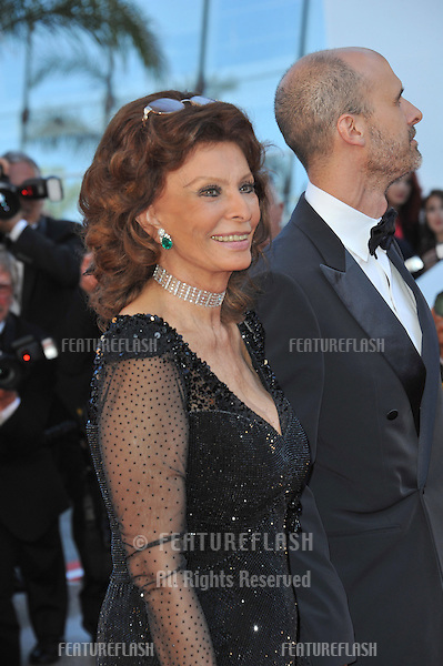 Sophia Loren at the gala awards ceremony at the 67th Festival de Cannes.<br /> May 24, 2014  Cannes, France<br /> Picture: Paul Smith / Featureflash
