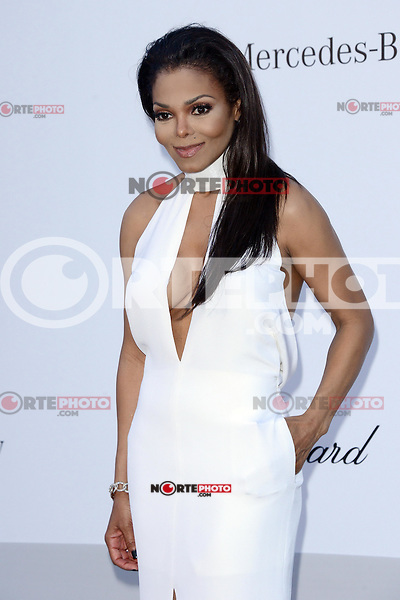 Janet Jackson attending the amfAR Gala 2012 at the Hotel Cup du Eden-Rock in Cannes 24.05.2012. Credit:Timm/face to face / Mediapunchinc