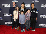 CBS New's Kristine Johnson and family at Paramount Pictures and Red Granite Pictures presents the New York Premiere of Daddy's Home sponsored by Ford Motor Company held at AMC Lincoln Square