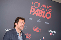 Spanish actor Javier Bardem attends to presentation of film 'Loving Pablo' in Madrid , Spain. March 06, 2018. (ALTERPHOTOS/Borja B.Hojas) / NortePhoto.com NORTEPHOTOMEXICO