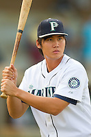 Yao Wen Chang #71 of the Pulaski Mariners plays some pepper at Calfee Park August 29, 2010, in Pulaski, Virginia.  Photo by Brian Westerholt / Four Seam Images