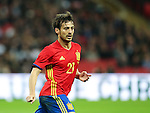 Spain's David Silva in action during the friendly match at Wembley Stadium, London. Picture date November 15th, 2016 Pic David Klein/Sportimage