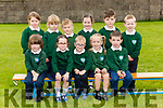 Una White junior infant class in Kilgobnet NS Beaufort on Tuesday (No name policy in the school)