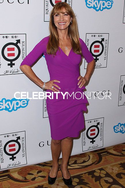 "BEVERLY HILLS, CA - NOVEMBER 04: Actress Jane Seymour arrives at the Equality Now Presents ""Make Equality Reality"" Event held at the Montage Beverly Hills on November 4, 2013 in Beverly Hills, California. (Photo by Xavier Collin/Celebrity Monitor)"