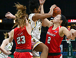 Siena defeats Marist 58-53 in a MAAC game on January 18, 2018 at the Times Union Center in Albany, New York.  (Bob Mayberger/Eclipse Sportswire)