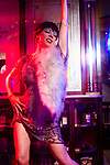 Fashion with Mirella, Cabaret Festival with performer Imogen Kelly, at the Apothecary 1878<br /> 118 Hindley St Adelaide 82129099 . Photo: Nick Clayton