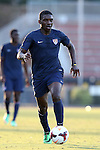 24 May 2014: USA Under-20's Ahinga Selemani. The Under-20 United States Men's National Team played a scrimmage against the Wilmington Hammerheads at Dail Soccer Field in Raleigh, North Carolina. Wilmington won the game 4-2.