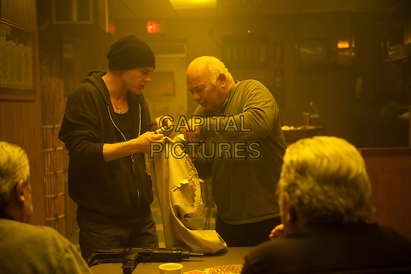 Michael Pitt, Burt Young<br /> in Rob the Mob (2014) <br /> *Filmstill - Editorial Use Only*<br /> CAP/FB<br /> Image supplied by Capital Pictures